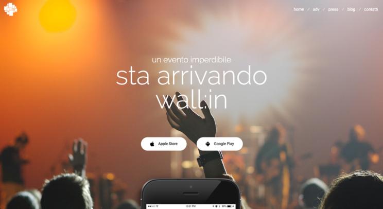 nuovo sito wallinapp