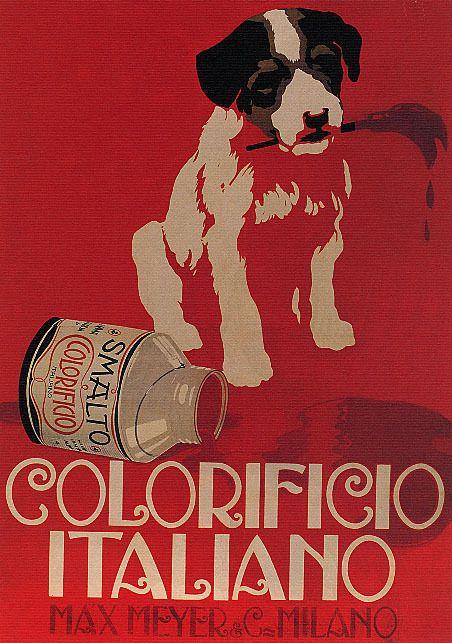 manifesti colorificio italiano wallinapp