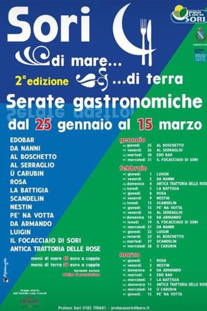 eventi di Gennaio a Genova