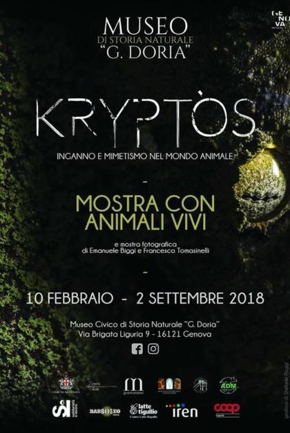 Kryptos eventi di marzo a Genova