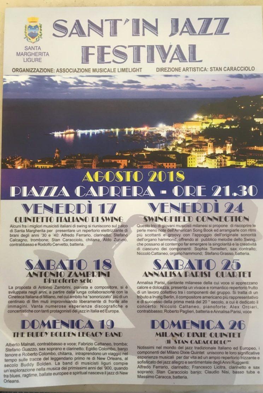 Eventi Genova Santa Margherita Ligure Sant'in Jazz Festival
