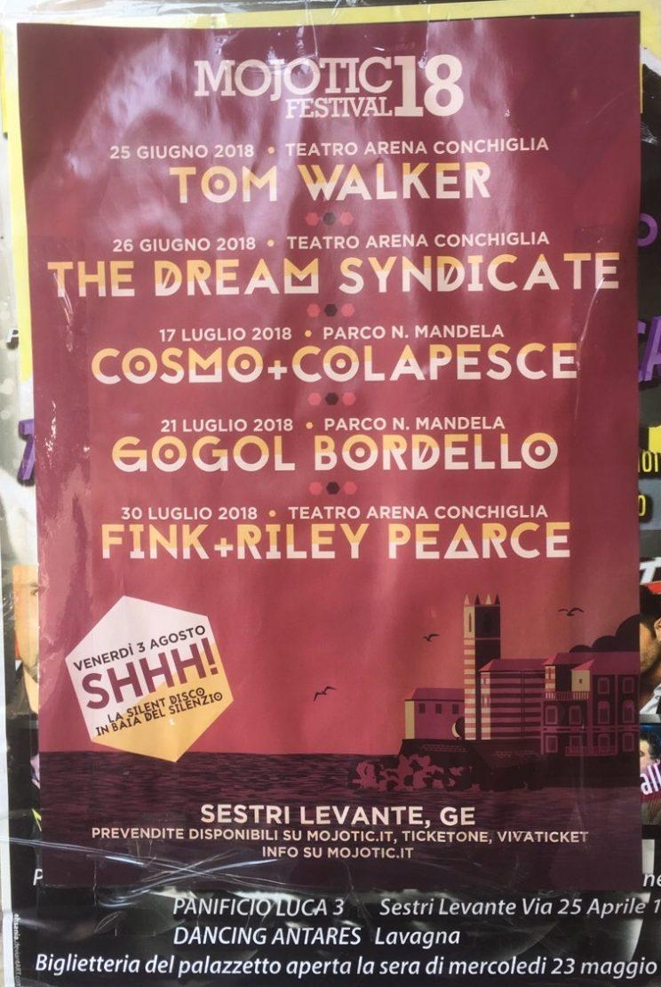 Eventi Sestri Levante Genova Agosto 2018 SHHH! Silent Disco
