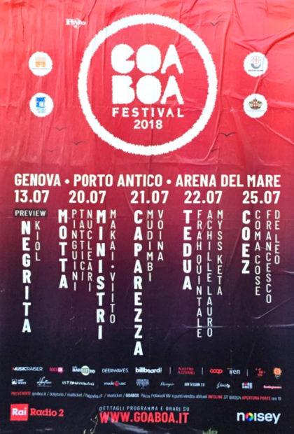 eventi di Luglio a Genova