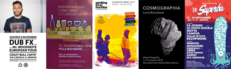 eventi di Novembre a Genova