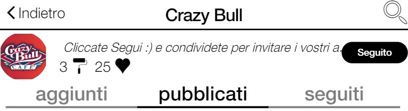 Gli eventi del Crazy Bull Café li trovi tutti su wall:in!