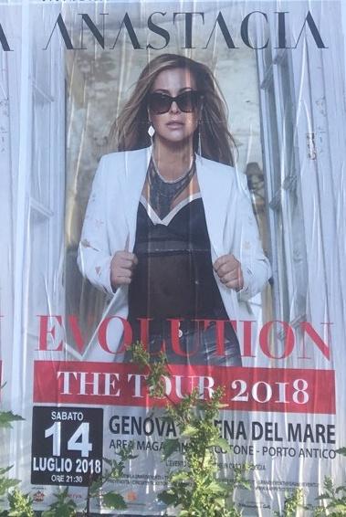 Eventi a Genova Arena del Mare Luglio 2018 - Anastacia