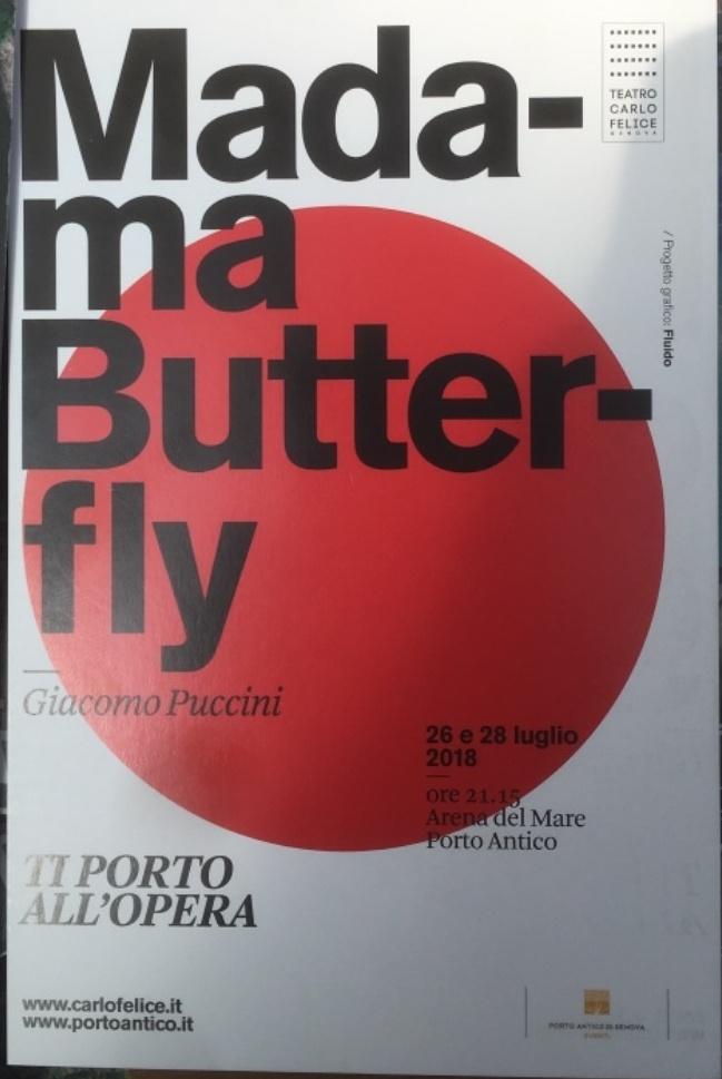 Eventi a Genova Arena del Mare Luglio 2018 - Madama Butterfly