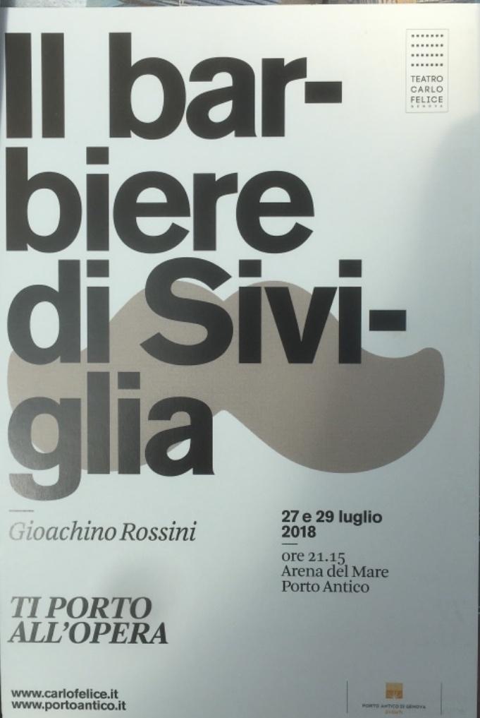 Eventi a Genova Arena del Mare Luglio 2018 - Il Barbiere di Siviglia