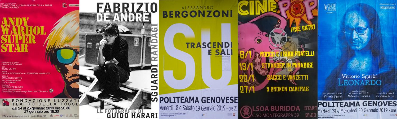 Eventi Gennaio 2019 Genova