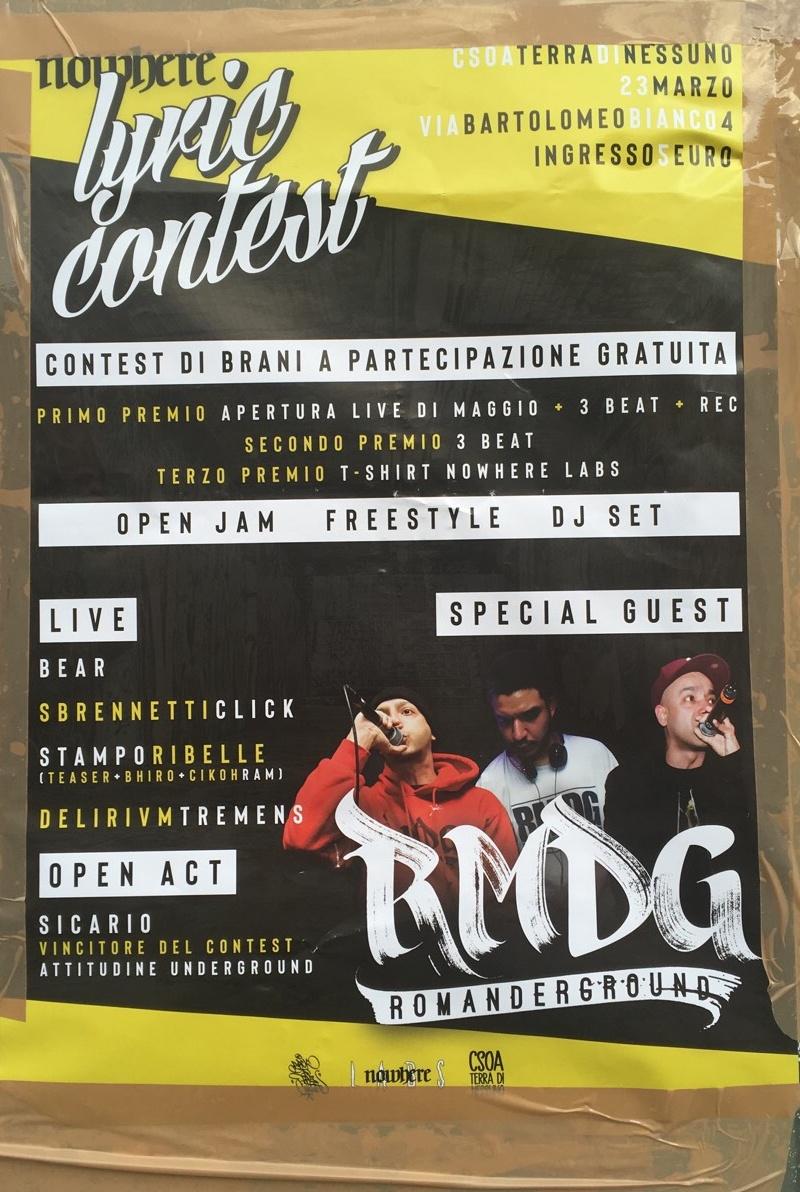 Lyric Contest LSOA Buridda Corso Monte Grappa 39, 16137 Genova Dal 23/03/2019 Al 23/03/2019 21:00 - 00:00