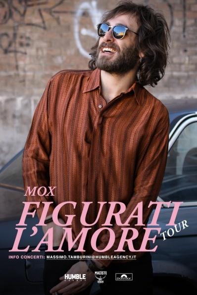 Mox Figurati l'amore Tour @CrazyBull Crazy Bull Cafe Via Eustachio Degola 4, 16151 Genova Dal 13/04/2019 Al 13/04/2019 22:00 - 01:00